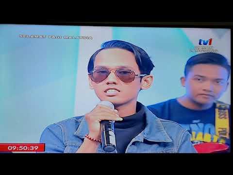 Live Oh Cinta Oh Sayang _ Ashral Hassan ft the siries At Selamat Pagi Malaysia