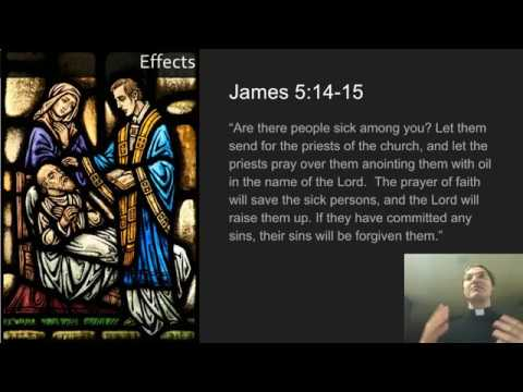 Sacraments of Healing:  Anointing of the Sick