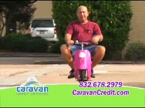 funny credit repair commercial - CARAVAN CREDIT SERVICES