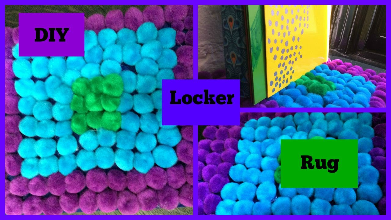 Locker rug diy youtube locker rug diy solutioingenieria Images