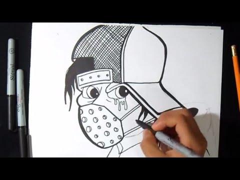 Wie Zu Zeichnen Ein Charakter Graffiti Youtube