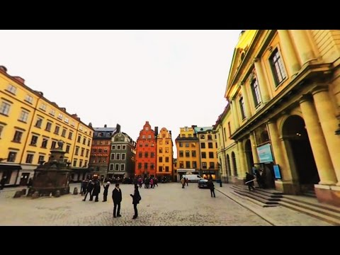 360 VR Tour | Stockholm | Old Town | Gamla stan | Big Square | Stortorget | No comments tour