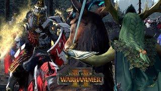 WHY BRETONNIA BEATS ELVES (ft Wood Elves) // Total War: Warhammer II Online Battle