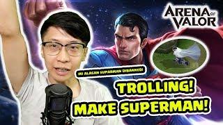Download Video Superman Trolling! Seru! Begini Alasannya Superman Sering di Pick! - Arena of Valor MP3 3GP MP4