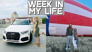 WEEK IN MY LIFE! | i got a car + i'm moving!