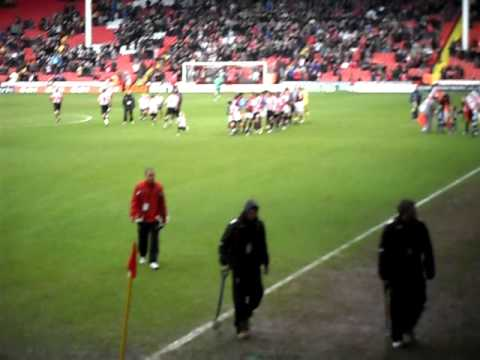Players Entrance v Sheffield United Away