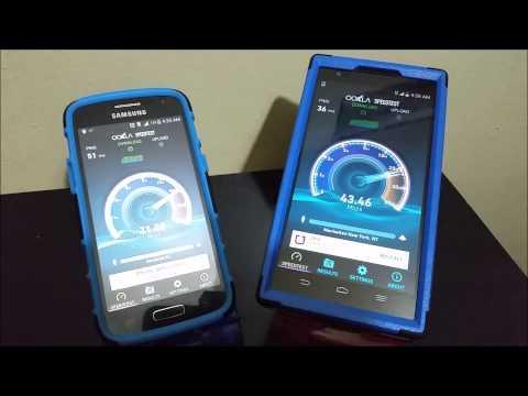 MetroPCS ZTE ZMAX vs Samsung Galaxy Avant 4G LTE Speedtest