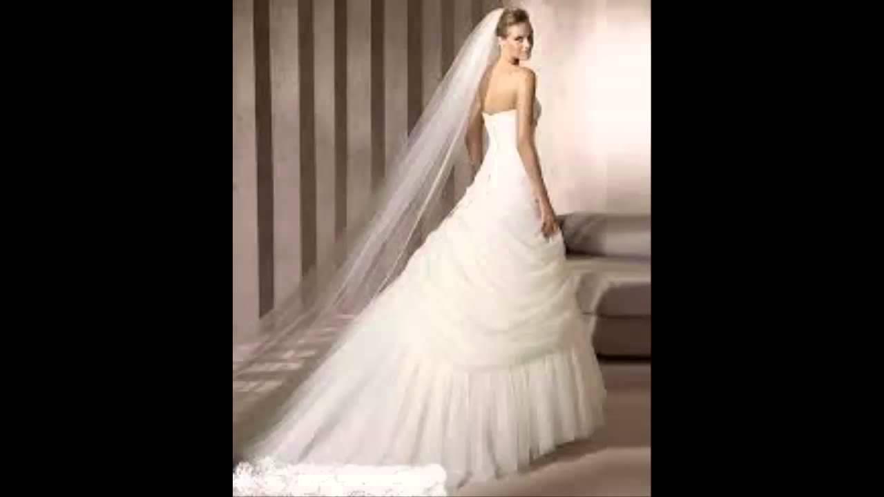 e8f6d2d11  اجمل مجموعة فساتين زفاف لعام 2015 - YouTube