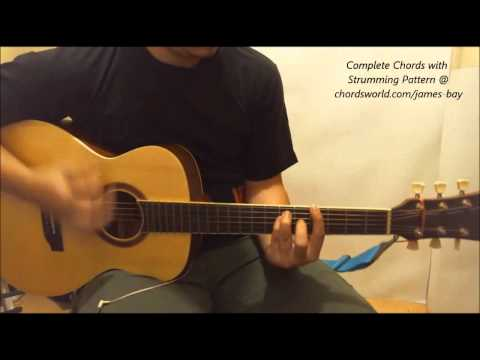 James Bay Collide Chords