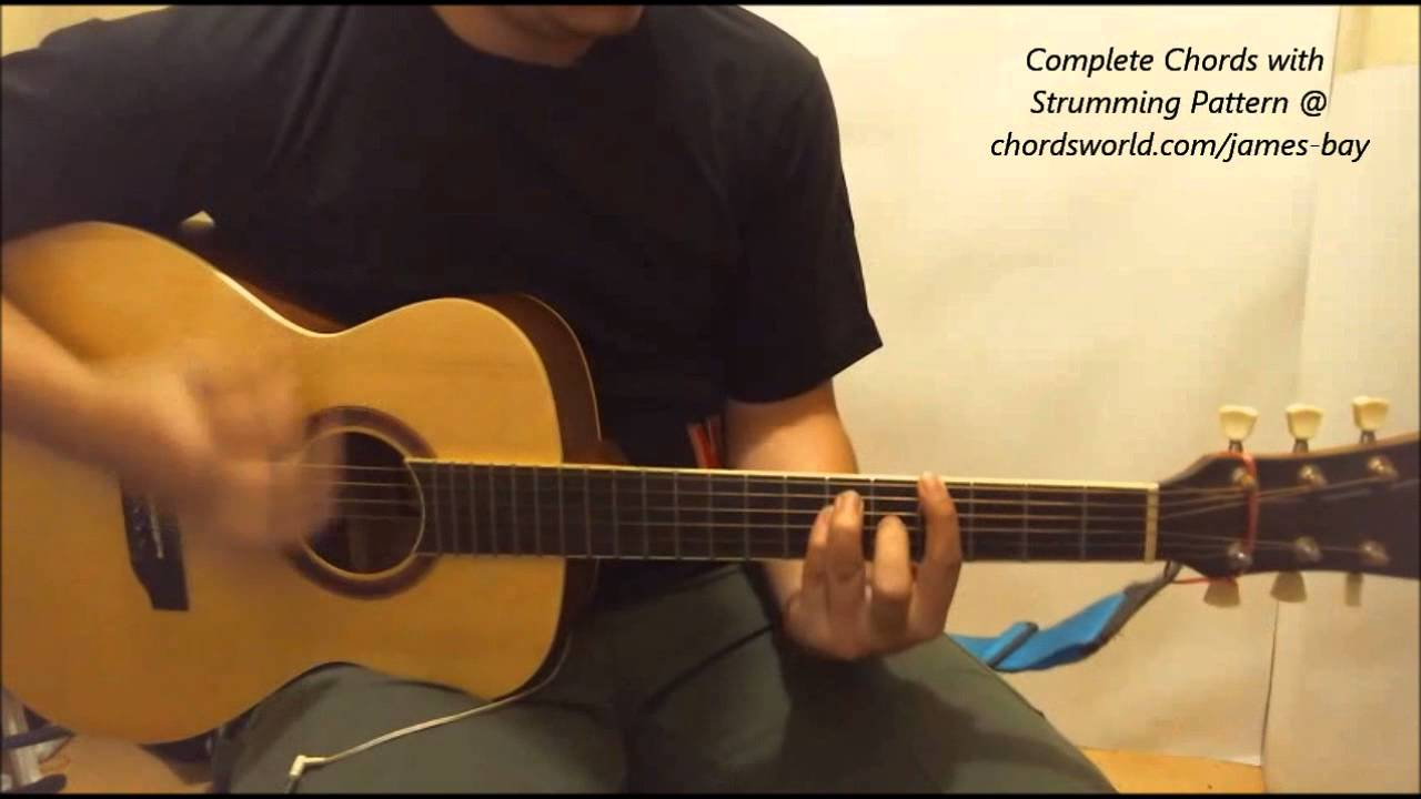 James Bay Collide Chords Youtube