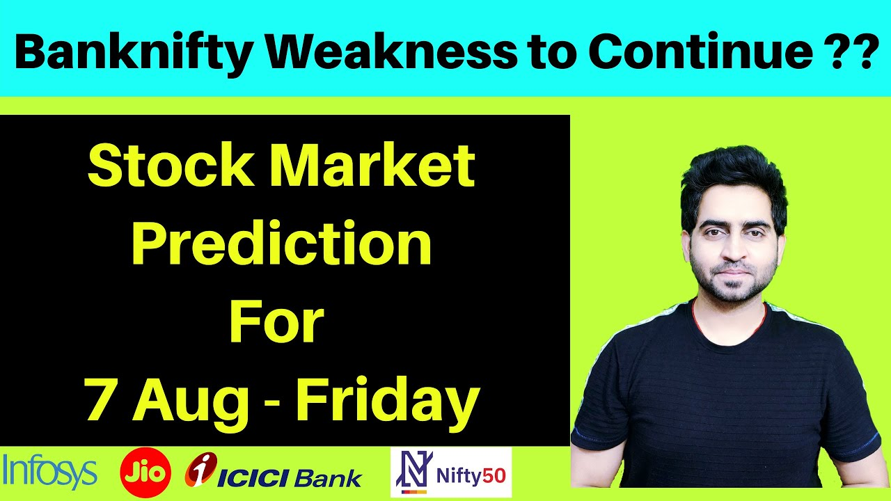 Banknifty & Nifty Analysis to trade on 7th Aug  | Gold & Silver rally