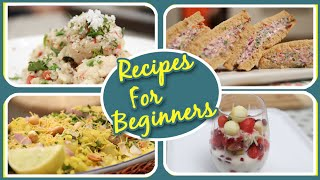 Recipes For Beginners   7 Easy To Make Beginner's Cooking Recipes   Basic Cooking