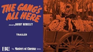 THE GANG'S ALL HERE Trailer (Masters of Cinema)