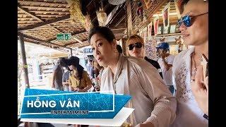 """Hồng Vân, Trịnh Tú Trung """"CÀN QUÉT"""" CHỢ NỔI PATTAYA Thái Lan - Hồng Vân Vlog"""
