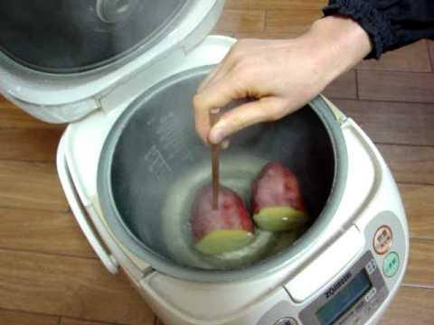 「焼き芋 作り方 炊飯器」の画像検索結果