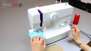 видео Швейная машина AstraLux К 50А