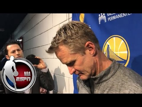 Steve Kerr frustrated over frequency of mass shootings   ESPN