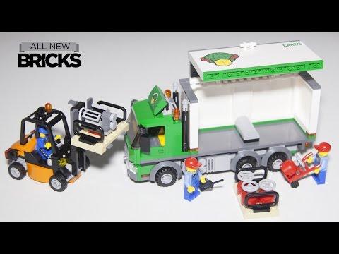 Lego City 60020 Cargo Truck Speed Build