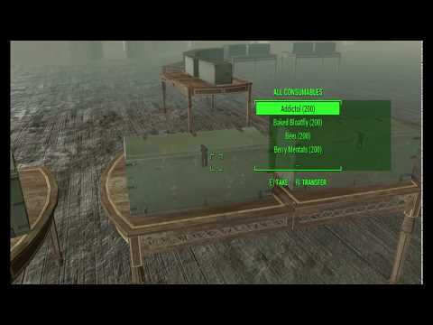 (PC Only)  Fallout4 How To Cure Mole Rat Disease With Code (cheats)