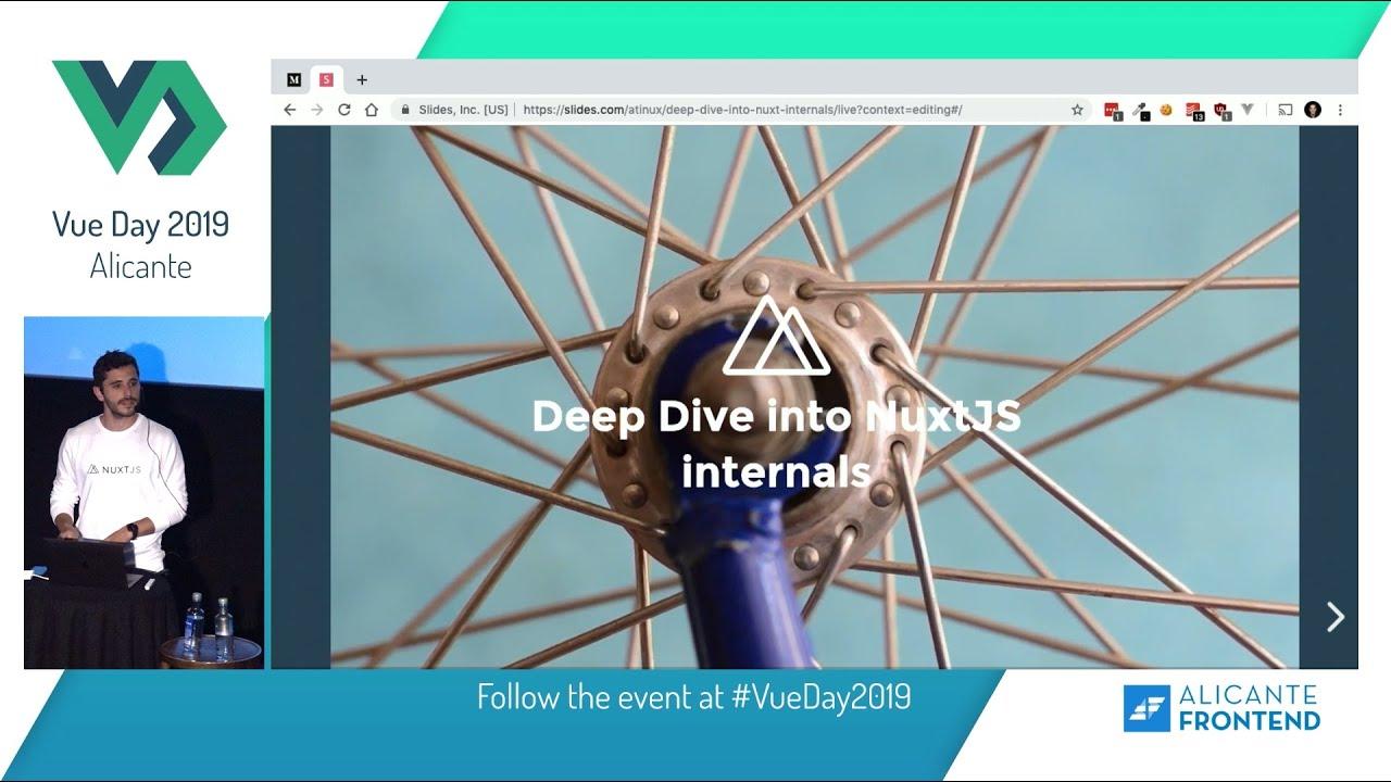Deep Dive into Nuxt js internals - Sebastien Chopin - Vue Day 2019
