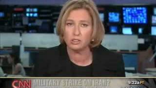 Tzipi Livni on CNN