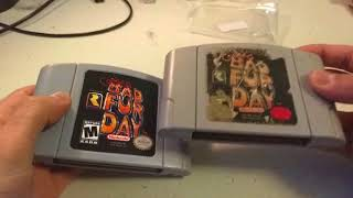 Conker's Bad Fur Day (N64) Reproduction Cart Teardown