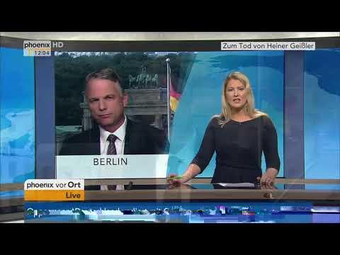 Gerd-Joachim von Fallois zum Tod von Heiner Geißler am 12.09.17