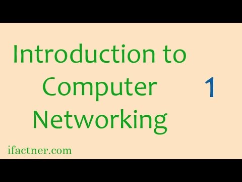 INTRODUCTION TO COMPUTER NETWORKS: Networking tutorials for beginners 1