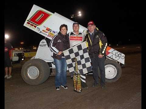 KWS 2012 Highlights Round 10 at Silver Dollar Speedway in Chico - June 8th
