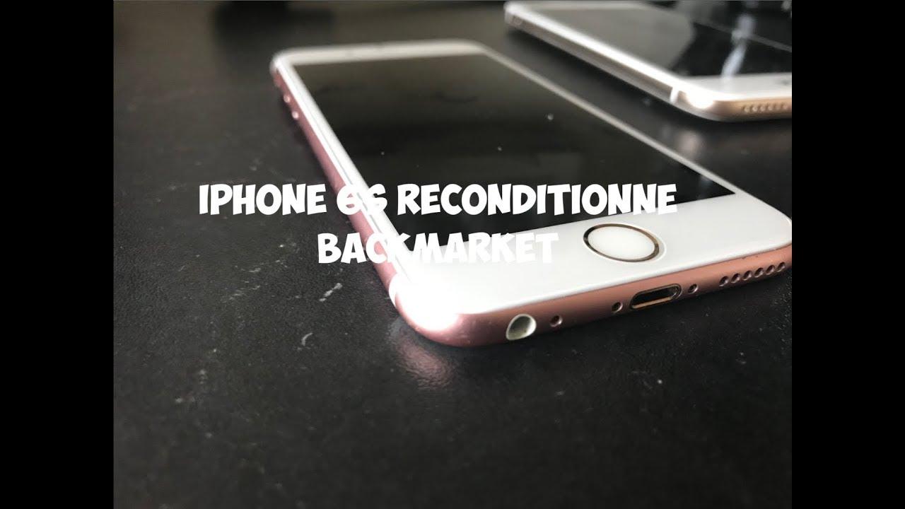 8a00be2032a07e Achat Back Market   Iphone 6S Reconditionné (2018) 6 mois après ...