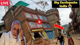 India Earthquake today | Magnitude 6.6 earthquake hits India l Weather today |MIV
