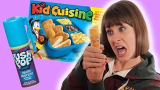Childhood Snacks Taste Test