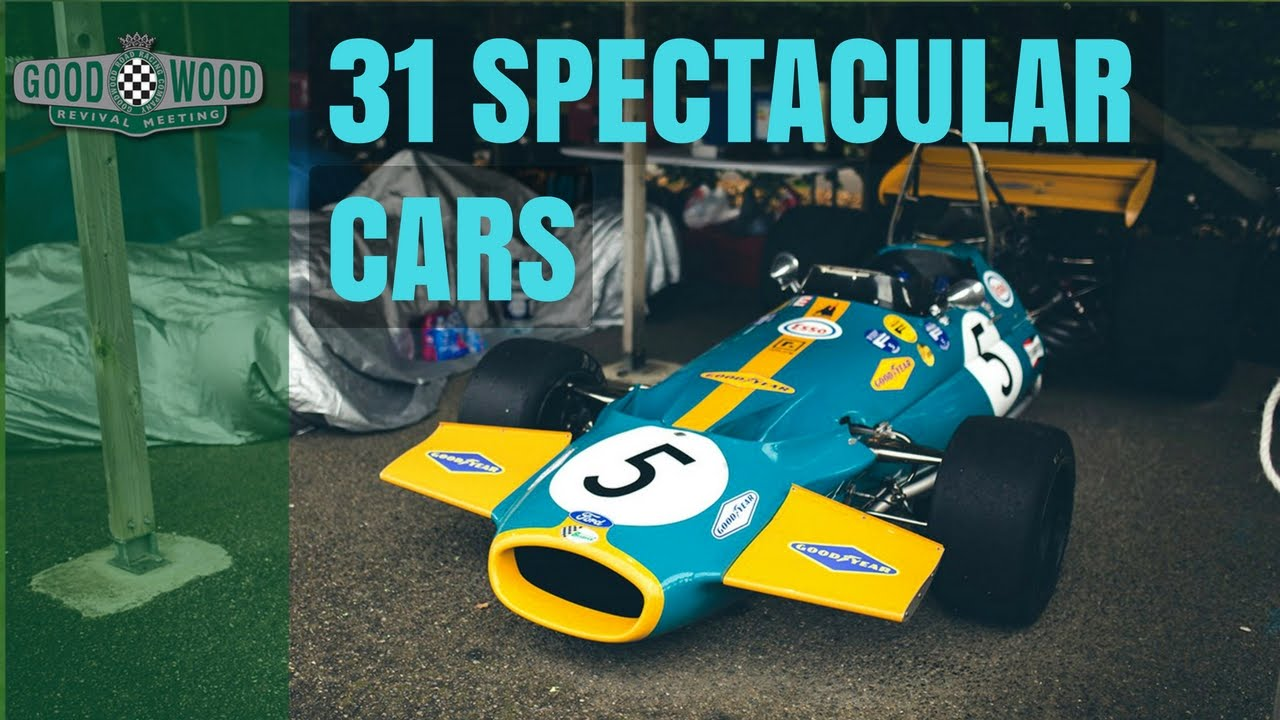 Spectacular Cars Driven By Legendary Driver Jack Brabham Youtube