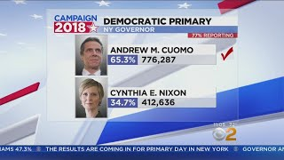 Andrew Cuomo Fends Off Cynthia Nixon For Governor