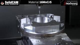 Nachreiner GmbH - SolidCAM Bearbeitungsvideo iMaschining