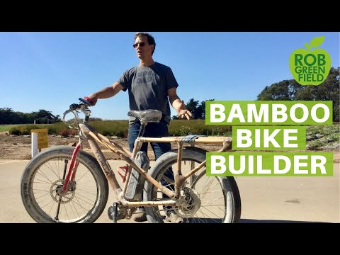 Craig Calfee Genius Bamboo Bicycle Builder
