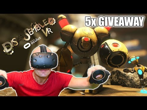 I´m In The Game - FOR REAL! Disassembled VR Gameplay and 5x Giveaway (Oculus Home Early Access)