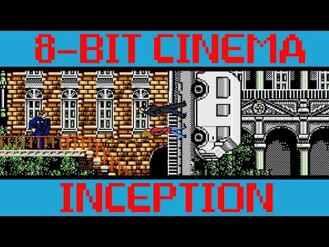 Inception recreated as an arcade-style video game