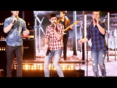 """Restless Road """"That's My Kind of Night"""" - Live Week 7: Semifinal - The X Factor USA 2013"""