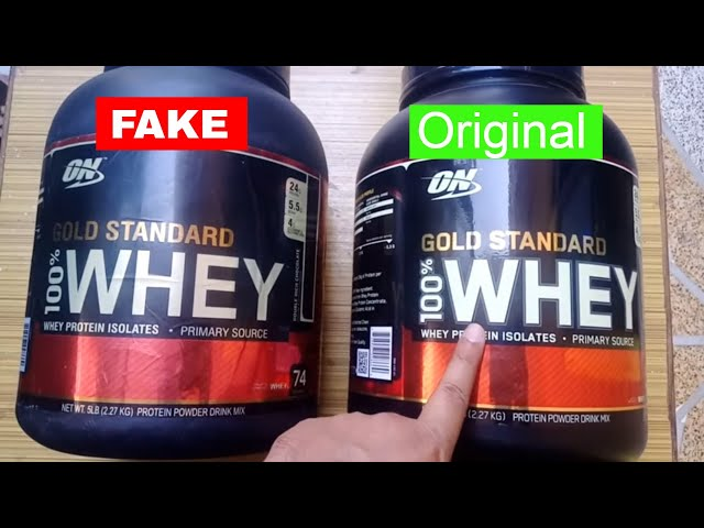 How to Check Original or Fake Whey Protein | How Fake Whey Protein Look like| In Hindi