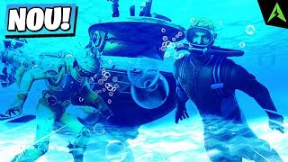 Unterwasser * Welt * erscheint in Fortnite.. (* GEHEIM *)