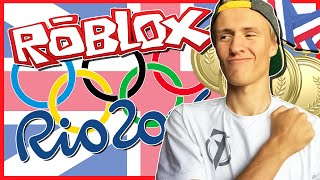 WINNING SO MANY GOLD MEDALS!? | ROBLOX RIO 2016 OLYMPICS
