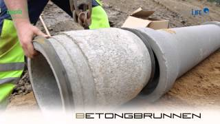 Pipelife  nstallationstid plaströr vs betong