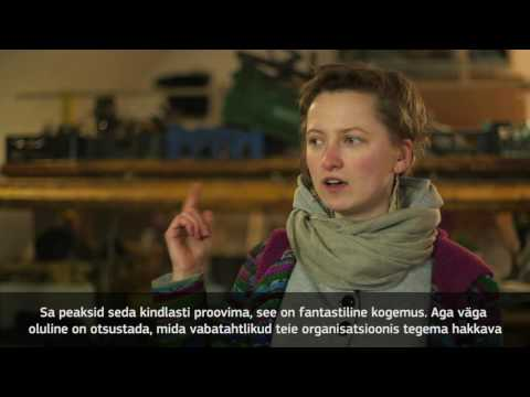 Euroopa Vabatahtliku Teenistus - miks ja kuidas? Organisatsioonile