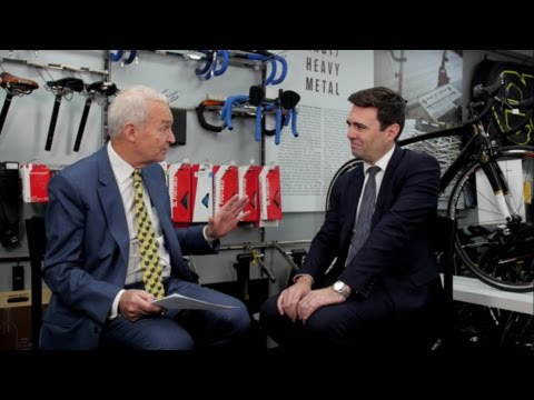 Jon Snow meets Andy Burnham MP