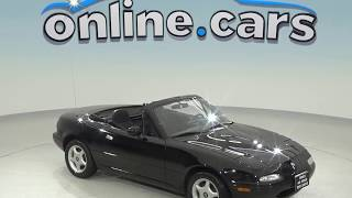 A98597DT Used 1994 Mazda Miata Base RWD 2D Convertible Black Test Drive, Review, For Sale