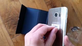 parody unboxing samsung galaxy s7 edge titanium silver