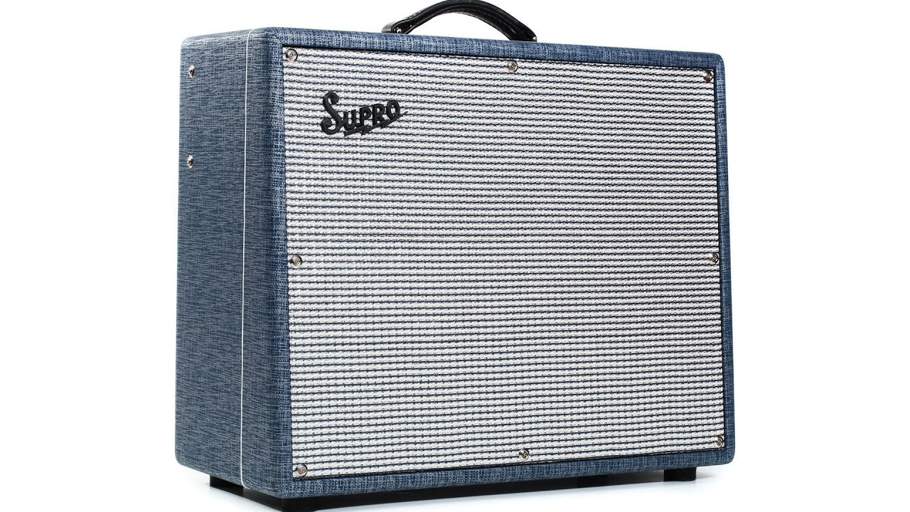supro s6420 thunderbolt plus tube combo amp demo sweetwater sound youtube. Black Bedroom Furniture Sets. Home Design Ideas