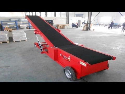 Auto-walking Truck Loading Conveyor