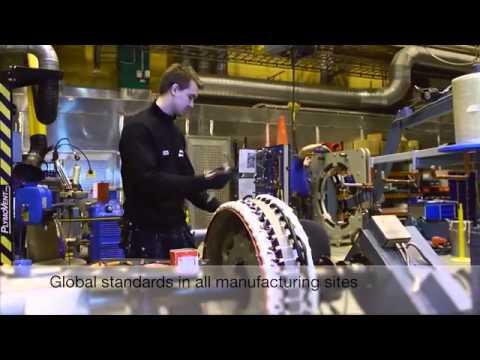 ABB motors and generators, Made in ABB
